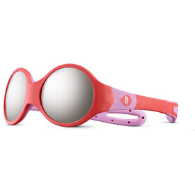 Julbo Loop M Spectron 4 Sunglasses Kids coral/rosa/grey flash silver
